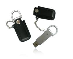 USB Stick Leder Chains