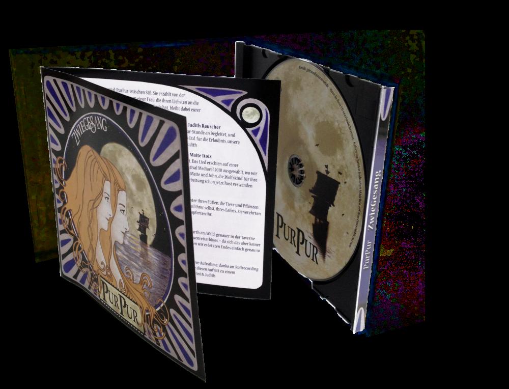 CD-Kopien/Pressung in Jewelbox schwarz