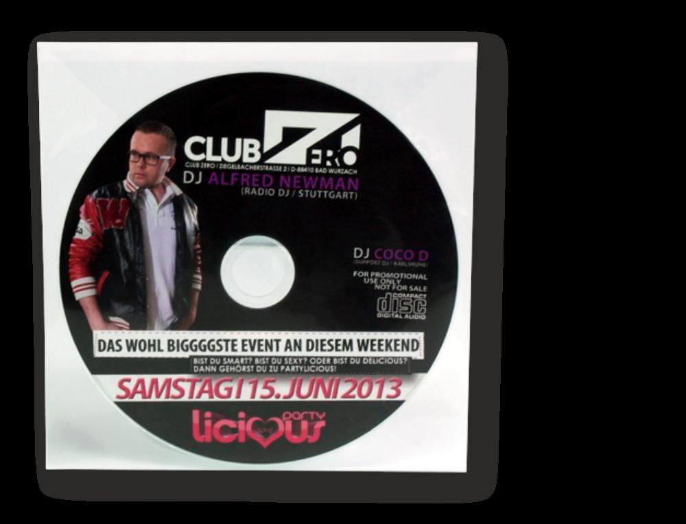 CD-Kopien/Pressung, Fotodruck in Polybag