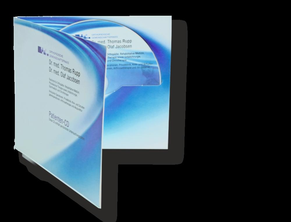 CD-Kopien/Pressung, Fotodruck im Digifile