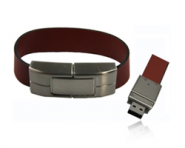 USB Stick Leather Ring
