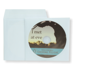CD-Rohlinge leer mit Farbdruck und Papiertüte