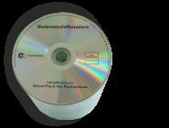 CD-Rohlinge leer mit 1-farbig schwarzem Digitaldruck/Siebdruck