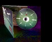 CD-Kopien/Pressung im Digipack eingeschweißt