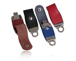USB Stick Flash Leder Key